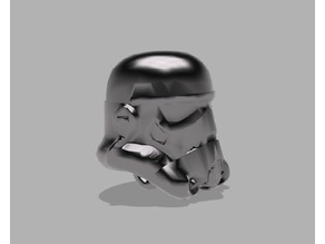 Stormtrooper Helmet Low Poly