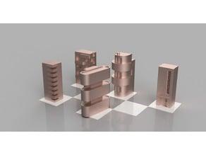 Bauhaus Chess Set - Architecture