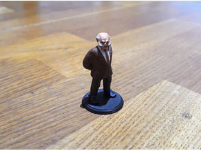 Professor Brown Call of Cthulhu Investigator