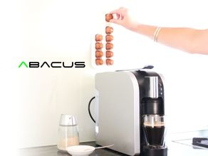Abacus | Nespresso Coffee Pod Rack