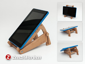 Tilting Tablet Stand cnc/laser