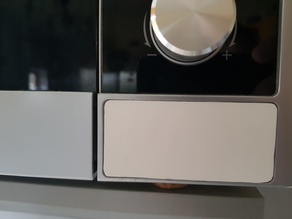 replacement door opening button (key) for Electrolux microwave oven