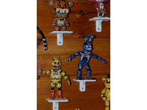 Small collectible shelf for POP or action figures