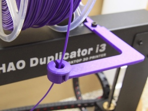 Locker for Wanhao I3 Filament Guide for Top Spool Holder
