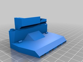 Rear Mount Cooling Blower Fan Duct for FlashForge Creator Pro - Remix/Mashup