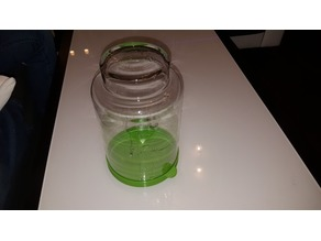 base vase for acetone