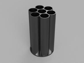 "Nerf 7 Shot Absolver Shell for 1.25"" PVC Fittings"