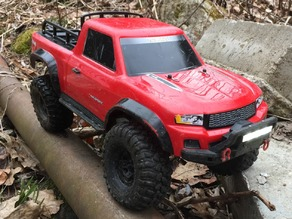 Traxxas TRX4 Bumper-Mounted Light Bar