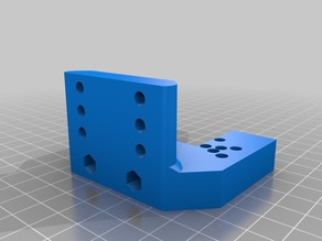 Customizable Extruder Groove Mount v3 with Servo