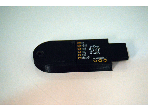 Digispark attiny85 BadUsb fake usb memory case by