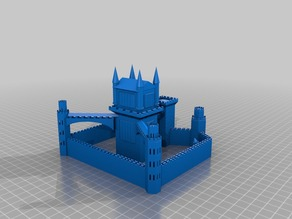 Castle with gnome