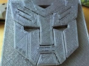 Autobot Transformer Badge
