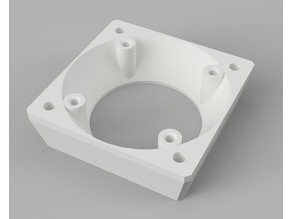 AJED -  E3D 40mm Noctua fan adapter