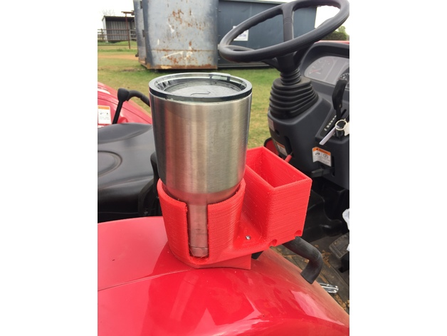 Cup Holder For Mahindra 2538 Tractor By Techbutterfly