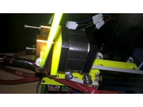 Anet A2 X Frame and Extruder