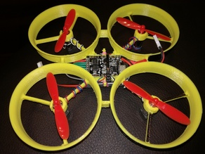 Quadcopter frame 72mm for CC3D brushed & 8520