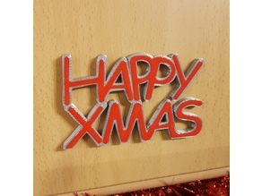 Happy Xmas Decoration