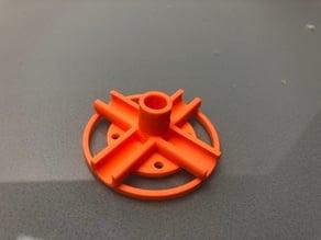 Marble track dowel holder