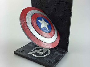Captain America bookend