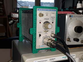 simple holder/feet for tektronix TM500 plugs