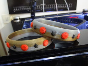 4 color bracelet