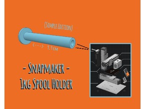 Snapmaker 1Kg Spool Holder Extension