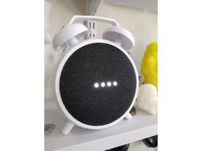 Google Home Mini Alarm Clock Holder