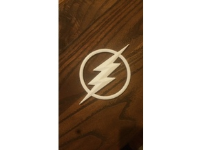 The Flash symbol Refrigerator magnet