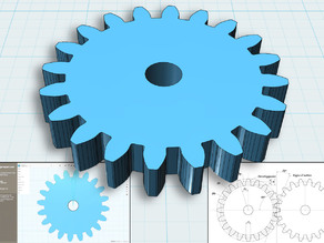 Method for drawing all gears, usable with much software.