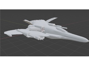 SSS FOX- Simple Space Ship model 1.002