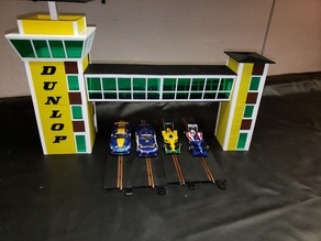 Recreation of the 1/32 scale Dunlop Control Tower Crosswalk