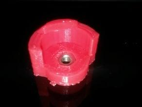 Makerfarm Prusa i3v one tool bed adjustment bracket