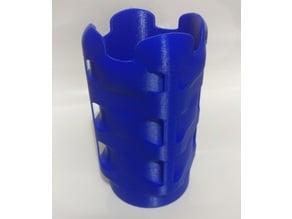 Cubed round cube vase