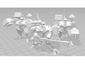 Space Communist Heavy Battlesuit Squad