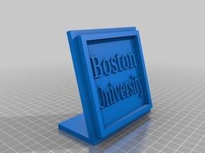Boston University Desk Display