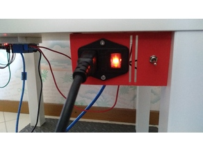 Enclosure Power Switch with Light Switch