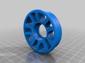 53mm spool adapter with 608z bearing hole