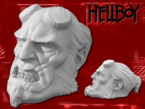 Hellboy Resculpted