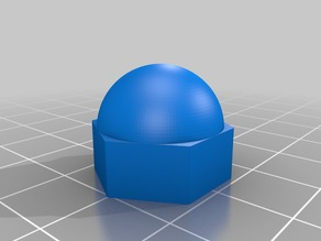 Anet A8 Domed 8mm Nut Cap