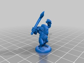 HeroQuest Fimir 18mm version