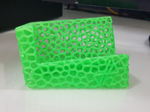 Business Card Holder Voronoi