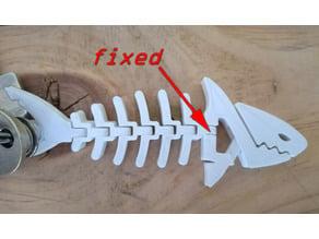 Shark keychain reworked