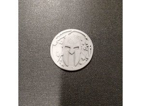 Spartan race coin