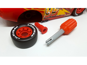 Cars Mcqueen Toy Tool Kit