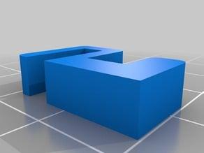 Modified Wire Clip for CowTech Ciclop 3D Scanner