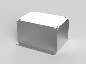 Fusion 360 parametric universal project enclosure with lid
