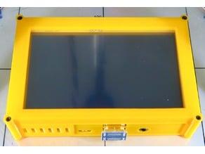 Pi 3 Case for 5 Inch Touch screen (SD access, non-clip case)