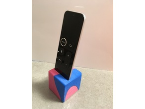 Apple TV puzzle cube stand