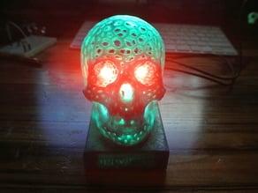 Skull Lamp LED base