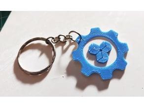 Keychain 3D Dados